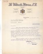 Espagne- Tarragona, La Vinicola Iberica S A. Lettre Illustrée De 1954. Tb état. - Espagne