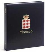 DAVO 16742 Luxe Binder Stamp Album Monaco I  Albert II - Groß, Grund Schwarz