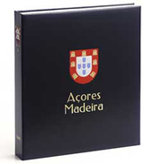 DAVO 1741 Luxe Binder Stamp Album Azores/Madeira I - Groß, Grund Schwarz