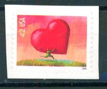US 2008 Love 1v Adhesive MNH - Etats-Unis