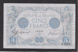 France 5 Francs Bleu - Décembre 1915 - TTB - 1871-1952 Circulated During XXth