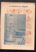 """Couverture De Cahier """"les Bienfaitsn De L'hygiène """" 11 Hydrothérapie. (PPP6443) - Buvards, Protège-cahiers Illustrés"""