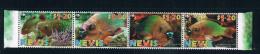 EA2054 Nevis 2001 Panda Emblem WWF Parrot Fish 4 Full 0913 - Stamps