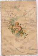 Post Card, Anjo, Menu De Restaurante - Menükarten