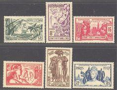 Inde: Yvert N°109/114**; MNH;  Cote 14.30€ - Unused Stamps