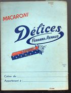 Protège Cahierb MACARONI DELICES FERRAND ET RENAUD (PPP6446) - Blotters