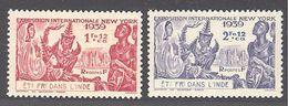 Inde: Yvert N°116/117*;  Cote 3.10€ - India (1892-1954)