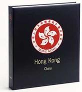 DAVO 2541 Luxe Binder Stamp Album Hong Kong I (China) - Groß, Grund Schwarz