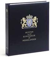 DAVO 28031 Luxe Coin Album King Willem I + II - Groß, Grund Schwarz