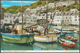 Outer Harbour, Polperro, Cornwall, 1970 - John Hinde Postcard - England