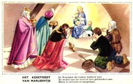Weihnachten, Het Kerstfeest, Van Marleentje,  Heilige Drei Könige, Um 1940/50 - Weihnachten