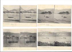 Lot De 7 Cartes Stéréoscopiques D'ITALIE - Les Lacs D'Italie -   - L 1 - Italia