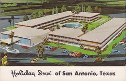CPA - CPSM - HOLIDAY DUN - Texas San Antonio - San Antonio