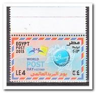 Egypte 2013, Postfris MNH, World Post Day - Egypte