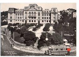 18745-LE-SUISSE-Canton De Vaud-Motrice Ce 2/2 47 Au Bugnon (remarquez Le Porte-bagages)-Ecole Normale De Bugnon-----anim - VD Vaud