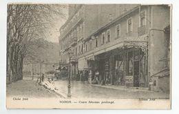 38 Isère - Voiron Devanture Chaussures Elysée Cours Sénozan Prolongé 1924 - Voiron