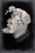 CPA Fantaisie - Portrait Fallières 1er Caricature Style Arcimboldo - Surréalisme Arcimboldesque - Hommes