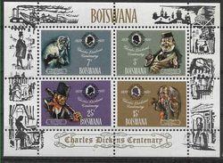 1970 BOTSWANA BF 3** Dickens - Botswana (1966-...)