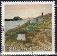 Faroe 2010 1 V Used HISTORY OF FEROE COLOURS - Féroé (Iles)
