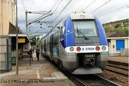 SNCF Série Z 27500 - La Z 27624 En Gare De Maromme - Carte Photo Moderne - Trains