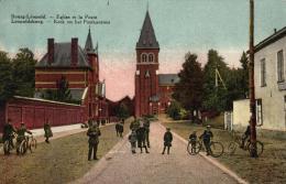 BELGIQUE - LIMBOURG - BOURG-LEOPOLD - LEOPOLDSBOURG - Eglise Et La Poste - Kerk En Het Postkantoor. - Leopoldsburg