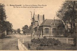 BELGIQUE - LIMBOURG - BOURG-LEOPOLD - LEOPOLDSBOURG - La Poste Et Le Kiosque Place Royale - De Post En De Kiosk. - Leopoldsburg