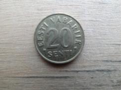 Estonie    20  Senti  1992  Km 23 - Estonia