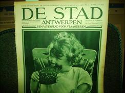 """-**DE  STAD  -**n°3-30/3/1934-""""MECHELEN  (2 Blz.)+ - Magazines & Newspapers"""