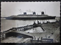 Postcard-Normandie,Steamer In The Port 5.A - Dampfer