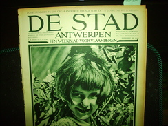 "-**DE  STAD  -**n°9-11/5/1934-""OOSTENDE  (2 Blz.)+ - Revues & Journaux"