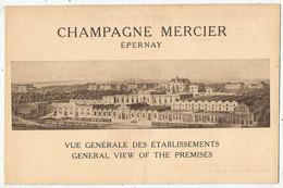 Champagne MERCIER (51 - Marne ) Vue Générale Des Etablissements - Epernay