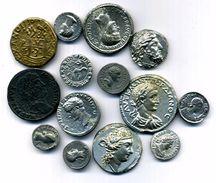 N/21....Lot De Monnaies Antique Romaine Et Grec A Identifier Copy - 4. Altre Monete Romane