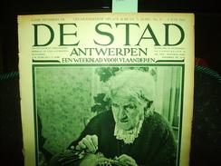 """-**DE  STAD  -**n°13-8/6/1934-""""De Kunstschatten Van Het Oud Hospitaal Te  AALST  (2 Blz.)+ - Magazines & Newspapers"""