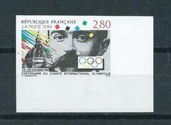 1994 France 100 Years IOC Ongetand MNH/Postfris/Neuf Sans Charniere - France
