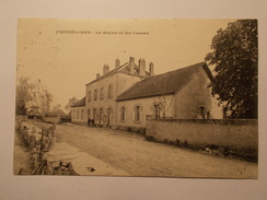 Carte Postale -  FRESSELINES (23) - La Mairie Et Les Classes - Ecoles - (1980) - Sonstige Gemeinden