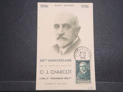 FRANCE - Carte Maximum Du Commandant Charcot En 1956 - L 10306 - Maximum Cards