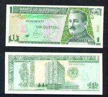 GUATEMALA  -  1998  1 Quetzal  UNC - Guatemala