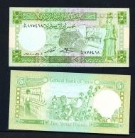 SYRIA  -  1991  5 Pounds  UNC - Syria