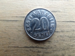 Estonie    20  Senti  2004  Km 23 - Estonia