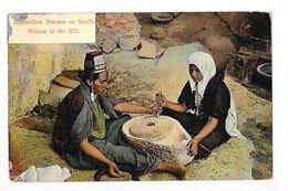 Femmes Au Moulin - Women At The Mill -   - L 1 - Palestine