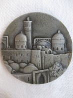 Uzbekistan. Ouzbékistan Médaille En Aluminium Boukhara / Bukhara - Unclassified