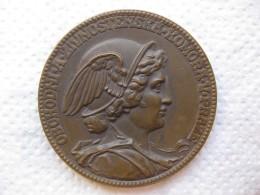 Tchéquie Médaille République Tchèque CHAMBRE DE COMMERCE DE PRAGUE. Par Josef Václav Myslbek - Unclassified