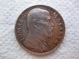 Tchéquie Médaille République Tchèque, Tomas G. Masaryk, Président En 1935. Par SPANIEL - Tokens & Medals