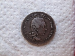 Médaille Argent FREDERIK Prince Héritier De Danemark Et De Norvège En 1782 - Non Classés