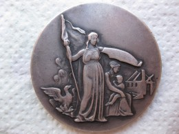 Danmark Médaille Argent La Compagnie D'Assurance Gjensidige . Danemark. - Non Classificati