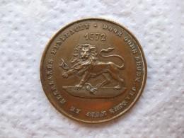 Médaille, 300eme Anniversaires De La Prise De La Brielle 1572 – 1872 - Unclassified