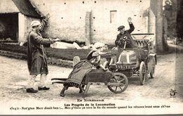 EN NORMANDIE  LES PROGRES DE LA LOCOMOTION - France