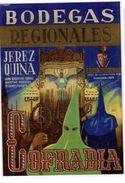 Etiqueta  Bodegas Regionales Jerez Quina  Cofradia - Etiketten