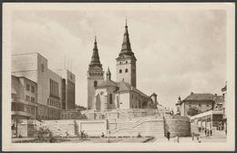 Reprezentačný Dom A Farský Kostol, Žilina, 1950 - Fotka Pohľadnice - Slovakia