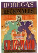 Etiqueta  Bodegas Regionales Jerez Quina  Cruz De Mayo - Etiquetas